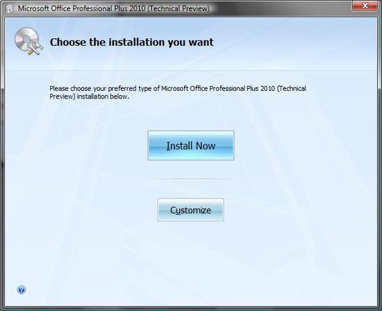Office 2010技术预览版下载今天泄漏!!!